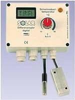 Temperaturdifferenzregler Solar 11 mit Digitalanzeige