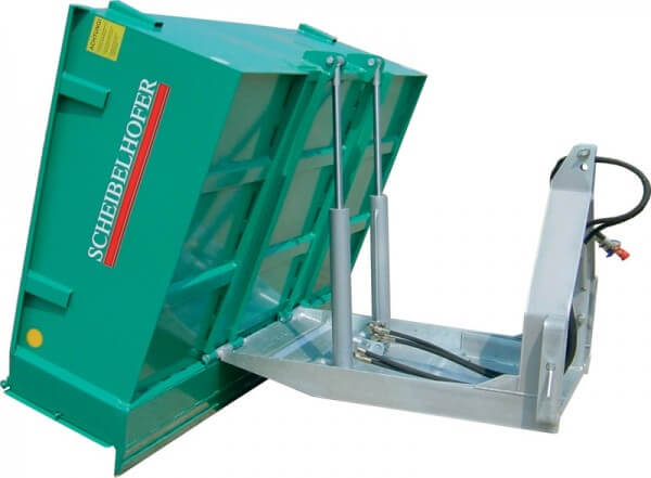 Heckcontainer Scheibelhofer Profi Plus TWIN Kipptransporter